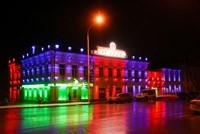 Наружное освещение: архитектурное освещение зданий, фасадов дома в Дзержинске